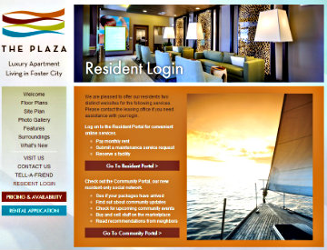 The Plaza Resident Login