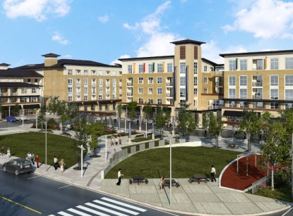 The Plaza Foster City Is First Phase Of An Overall Master Plan Redevelopment 20 Acres In Called Pilgrim Triton